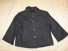 Women's New York & Company Stretch Denim Jacket - XS