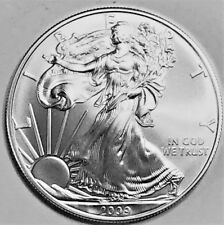 2009 Silver American Eagle BU 1 oz Coin US $1 Dollar Uncirculated Brilliant *10