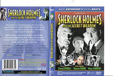 Sherlock Holmes and The Secret Weapon-1943-Basil Rathbone- Movie-DVD