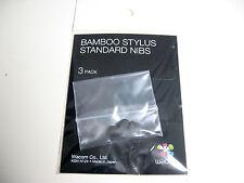 Original WACOM BAMBOO Stylus Pen Nibs Set (3 nib) Part# ACK-20501