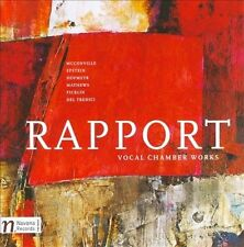 Del Tre : Rapport: Vocal Chamber Works CD