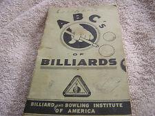 ABC's Of Billiards 1948