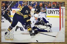 THOMAS VANEK - Buffalo Sabres 2010-2011 game night poster #19 - hockey 12-23-10