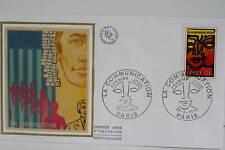 ENVELOPPE PREMIER JOUR SOIE 1976 LA COMMUNICATION