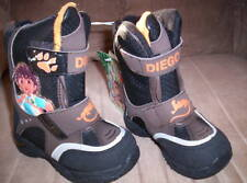 Toddler Boys Go Diego Go Winter Snow Boots 5T
