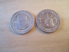 President Ronald Reagan & Statue of Liberty Double Eagles, Nat'l HIstoric Mint