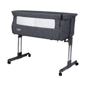 Mother's Choice Lullaby Bedside sleeper Grey (Newborn - 9kgs) NEW, Free Retur...