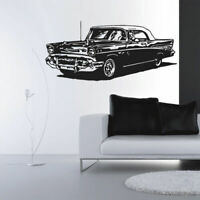 Wall Decal Vinyl Sticker Decal Hot Rod Auto Retro Old Antique Muscle Car (Z2995)