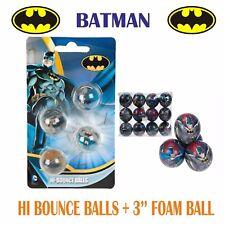 Batman 4 xhi-bounce Bolas & 1x de espuma fiesta favour-bag filler-fun para niños