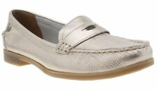Hush Puppies Patternless Loafers, Moccasins Flats for Women
