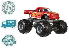 New Red Hot Wheels Monster Truck Racing Vehicle 1:24 Scale Toy Gift For Kid Boy