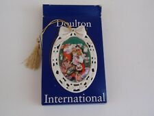 Vintage Doulton International Victorian Whimsies Santa and Dolls Ornament 1994