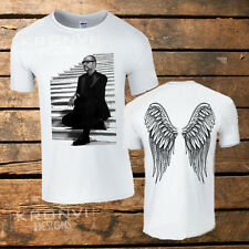 George Michael Angel Wing t-shirt (All sizes available) UK, Music, Faith, Greek