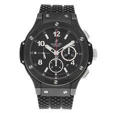 Hublot Armbanduhren aus Silikon/Gummi mit Chronograph
