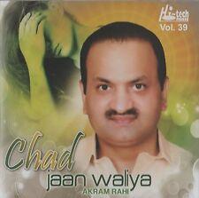 AKRAM RAHI - CHAD JAAN WALIYA VOL. 39 - BRAND NEW MUSIC CD - FREE UK POST