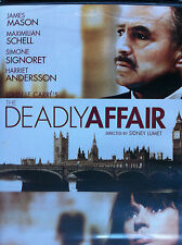 THE DEADLY AFFAIR - UK REGION 2 DVD - OOP - James Mason