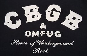 "CBGB NEW YORK 77"" PUNK ROCK BLACK CANVAS BACK PATCH"