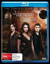 Vampire Diaries : Season 6 (Blu-ray, 2015, 4-Disc Set)