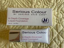 Serious Skin Care Serious Color In Depth Coverage Liquid Foundation - Medium NIB