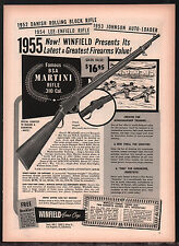1955 BSA MARTINI .310 Rifle PRINT AD Winfield Arms Collectible Advertising