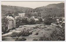 Wales postcard - Llangollen from the Bridge P/U 1968 (A244)