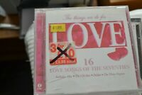THE THINGS WE DO FOR LOVE   16 LOVE SONGS OF THE SEVENTIES    CD    K TEL