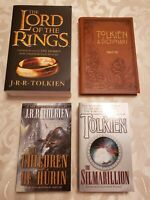 LORD OF THE RINGS TOLKIEN DICTIONARY SILMARILLION CHILDREN OF HURIN BOOKS HOBBIT