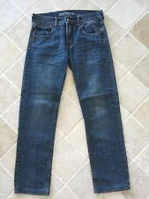 WOMENS QUIKSILVER JEANS STRAIGHT FIT, SIZE 28, BLUE #1234