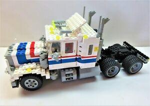 Lego Vintage Model Team #5580-Highway Rig-100% complete-no manual (1986)