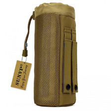 NEW Huntvp Tactical Water Bottle Pouch Military Molle Pack Gear Waist Back Pack