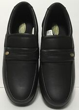 Haband's Fit Forever Men's Loafer Size 9D Black Lightweight Shoe