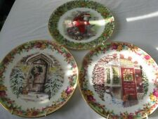 More details for royal albert plates. home for xmas & gifts for boys & girls unboxed but gc