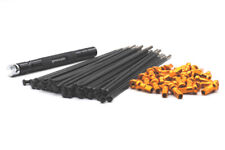 VPOWER BLACK SPOKE & GOLD NIPPLE KITS 21X1.6 FRONT SUZUKI RM/RMZ