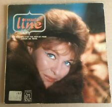 """Line Renaud - Mon Magicien, French 1965 7"""" E.P. Disques Line Records. Signed"""