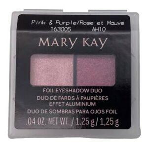 Mary Kay Foil Eyeshadow Duo PINK & PURPLE 163005 Free Shipping NEW
