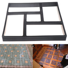 Garden Walk Pavement Mold DIY Manually Paving Cement Brick Stone Road DecoraWZI