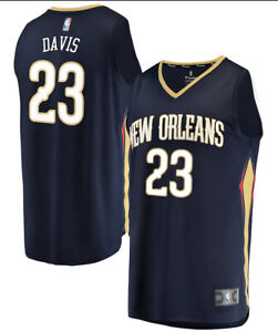 Anthony Davis New Orleans Pelicans NBA Fast Break Jersey #23 New NWT