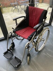 2Go Ability Pro Glide Foldable Wheelchair