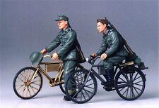 Tamiya 1:35, Zwei Deutsche Soldaten auf Rad, 35240, WWII, Modellbau, Bausatz