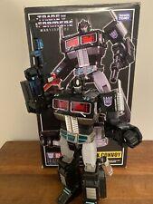 TAKARA Transformers Masterpiece MP-10B BLACK CONVOY Nemesis Optimus Prime Used