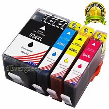 4 PK Ink New Chip for HP 934 XL 935 XL Pro6230 Pro6830 pro6835 Officejet Printer