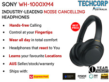 Sony WH-1000XM4 Wireless Noise Cancelling Headphones Black- Brand New Sealed Box