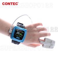 Pulsera Reloj De Pulso Spo2 Oximetro sangre oxígeno Monitor contec cms50f CE