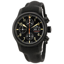 Fortis Aviatis Aeromaster Stealth Chronograph Automatic Mens Watch 656.18.18 LP