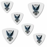 6 x Clayton Acetal Guitar Picks - Rounded Triangle 1.90 Gauge 6-Pack RT1.90