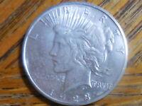 1923-S Peace Silver Dollar (Seller's # 743)