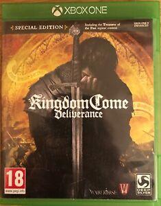 Kingdom Come: Deliverance, Xbox One video game, used