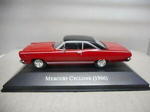 MERCURY CYCLONE 1966 AMERICAN CARS 1:43 ALTAYA IXO