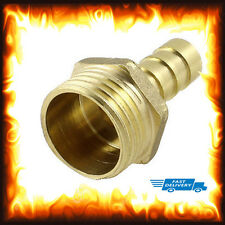 """1/2"""" BSP to 8mm Brass Male Barb Hose Tail Fitting Fuel Air Gas Water Hose Oil"""