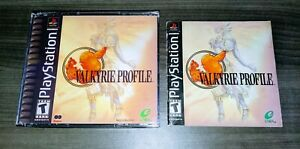 Valkyrie Profile {{ Authentic Manual, Reproduction Case }} - PS1 Playstation 1